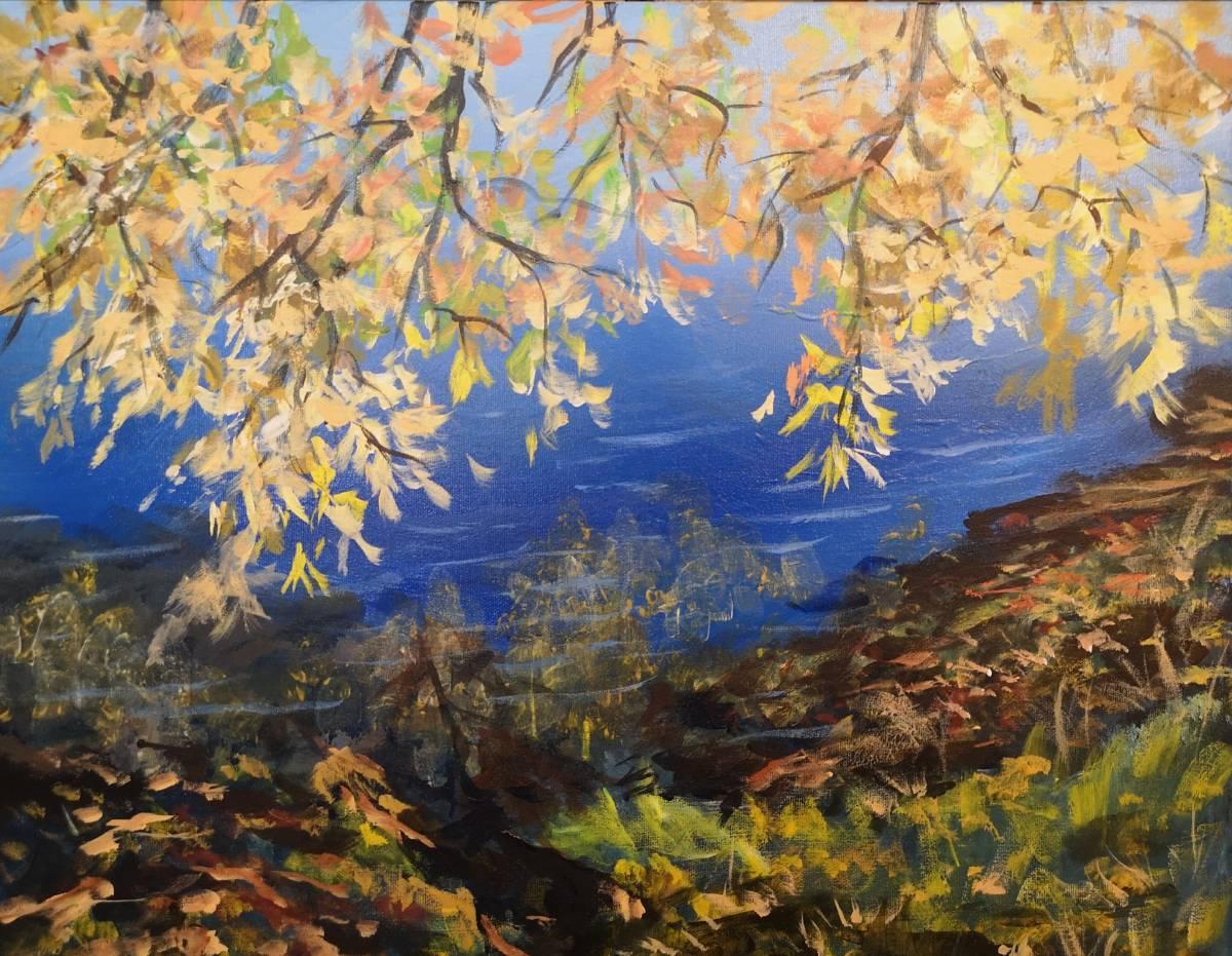 At-7-Oaks  16x20  acrylic on canvas  $400