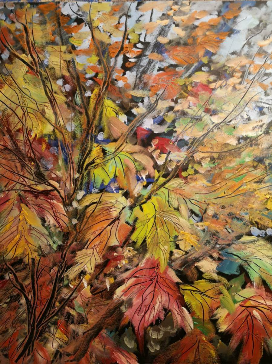 Maples Changing  16x20  oil on canvas  Sold